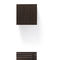 tavolino basso moderno / in legno / in laminato / quadrato