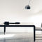 tavolo moderno / in lamiera / rettangolare / quadrato