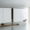tavolino basso moderno / in legno / rettangolare / quadrato