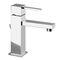 miscelatore per lavabo / in metallo cromato / in acciaio / da bagno