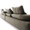 divano modulare / moderno / in tessuto / reclinabile