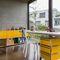 cassettiera per ufficio in MDF laccato / 3 cassetti / 2 cassetti / con rotelle