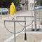 rastrelliera per biciclette in acciaio / in acciaio inossidabile / per spazi pubblici / con sistema di sicurezza