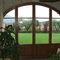 porta finestra battente / in alluminio / in legno / a doppi vetri