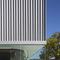 rivestimento di facciata in acciaio / prelaccato / a doghe / su misura