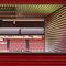 rivestimento di facciata in acciaio / prelaccato / a doghe / verticale