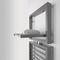 radiatore scaldasalviette ad acqua calda / in metallo / moderno / rettangolare