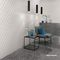 Piastrella 3D / da interno / da parete / in gres porcellanato 3D WALL DESIGN : MESH WHITE Atlas Concorde
