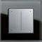 dimmer per illuminazione / a pulsante scorrevole / in plastica / moderno