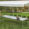 gazebo in acciaio inox / in alluminio / tetto in tela