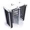 Tornello a tutta altezza / in alluminio / per controllo accesso / per spazio pubblico TURNI-Q NOCTUR  Alphatronics