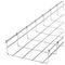 canalina porta cavi galvanizzata / in acciaio inox / in maglia metallica