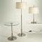 Lampada da tavolo / moderna / in metallo / in lino DIANA by Federico Correa, Alfonso Milá & Miguel Milá Santa & Cole