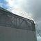 recinzione industriale / a lamelle / in metallo / paravista