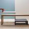 tavolo da conferenza moderno / in quercia / rettangolare / per edifici pubblici