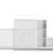 libreria modulare / alta / bassa / design minimalista
