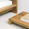 comodino moderno / in quercia / in noce / in legno oliato