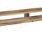 panca pubblica / moderna / in quercia / in legno massiccio