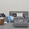 divano modulare / moderno / in pelle / in poliestere