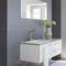mobile lavabo sospeso / in Corian® / in alluminio / in acciaio inox