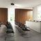 tavolo da conferenza moderno / in legno laccato / rettangolare / per edifici pubblici