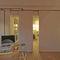 parete scorrevole impilabile / in laminato / per uso residenziale / acustica
