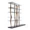 libreria design originale / in legno / in vetro