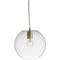lampada a sospensione / moderna / in vetro soffiato / fatta a mano