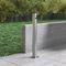 portacenere a muro / in acciaio inox / per esterni / per spazio pubblico