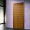 porta da interni / a ventola / in legno / filomuroARIAIMPRONTA