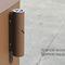 portacenere a muro / in acciaio / per esterni / per spazio pubblico