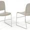 Sedia per auditorium / visitatore / moderna / impilabile MAESTRO by KI Gispen