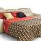 divano d'angolo / letto / moderno / in tessuto
