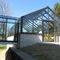 pensilina per edificio ad uso pubblico / in alluminio / contract