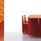 tavolo design originale / in PVC / in acciaio verniciato / rettangolare