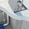 botola per pavimento / quadrata / con drenaggio dell'acqua / in alluminio