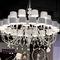 Lampadario moderno / in alluminio / in resina / a incandescenza ECLETTICA : EVA S SERIES by Fly Design Studio Masiero