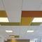 pannello acustico per soffitto / in poliestere / colorato / contract