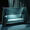 divano moderno / in tessuto / contract / con schienale alto