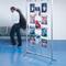 cartello pubblicitario da interno / mobile / in alluminio