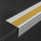 profilo per gradini in alluminio / antiscivolo