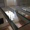 pavimento sopraelevato in acciaio / in vetro / da interno