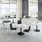 tavolo da conferenza moderno / in legno / tondo / modulare