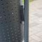 pattumiera pubblica / da terra / in acciaio / in acciaio galvanizzato