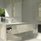 mobile lavabo sospeso / in legno / in Cristalplant® / moderno