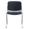 Sedia visitatore moderna / con braccioli / imbottita / impilabile HOLIDAY2 BRUNE Sitzmöbel GmbH