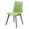 Sedia visitatore moderna / imbottita / in plastica / in legno FLUX by Uwe Sommerlade BRUNE Sitzmöbel GmbH