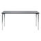 Tavolo moderno / in metallo / rettangolare / per edifici pubblici 4091 BRUNE Sitzmöbel GmbH