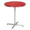 Tavolo da bistrot moderno / in acciaio / rotondo / quadrato 4115 by Delphin Design BRUNE Sitzmöbel GmbH