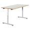 Tavolo da lavoro moderno / in legno / in HPL / in acciaio FOLD 4120 by delphin design BRUNE Sitzmöbel GmbH